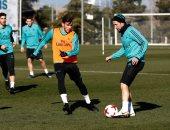 صور.. راموس يعود لتدريبات ريال مدريد استعداداً لمواجهة ليجانيس
