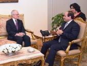 السيسي يستقبل رئيس الاستخبارات الفرنسية ويؤكد خصوصية العلاقات بين البلدين