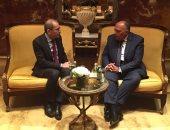 وزير الخارجية يبحث مع نظيره الأردنى جهود تحقيق المصالحة الوطنية الفلسطينية