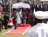 صور.. جورج وايا يحلف اليمين الدستورية رئيسا جديدا لليبيريا