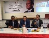 صور.. الجالية المصرية بالسويد تعلن دعمها السيسي بانتخابات الرئاسة