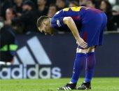برشلونة فى ورطة دفاعية بعد إصابة فيرمايلين مع بلجيكا