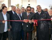 رئيس جامعة طنطا يفتتح تطوير المبنى الرئيسى وكلية التربية