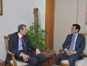 سفير اليمن ومساعد الخارجية المصرية يبحثان تطوير العلاقات المشتركة