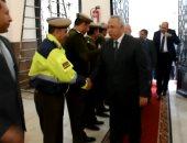 محافظ الشرقية وقيادات الجهاز التنفيذى يهنئون الشرطة بعيدها