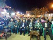صور..أهالى قرية الجديدة بالداخلة ينظمون احتفالية لتأييد ترشح الرئيس السيسي