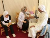 قافلة طبية توقع الكشف على 54 من أهالى شمال سيناء