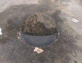 صور.. غرق شوارع مساكن الوحدات الاجتماعى فى الخانكة بمياه الصرف الصحى