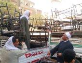 أوقاف المنيا تسلم 100 مقعد لـ4 مدارس بالمناطق الأكثر احتياجاً