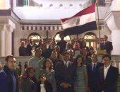 السفارة المصرية فى صريبا تحتفل بثورة 25 يناير ..صور
