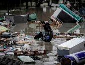 صور.. إجلاء المئات من سكان باريس بسبب فيضانات غمرت منازلهم