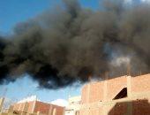 السيطرة على حريق فى مخزن خردة وإصابة 2 بحروق بالمحلة