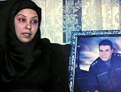 تعرف على رسالة زوجة الشهيد الرائد أحمد جمال الفقى  للرئيس والشعب فى عيد الشرطة