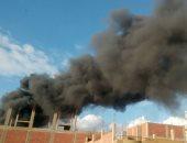 تحقيقات حريق مصنع الهرم: محتوياته أدت لانتشار النيران والخسائر بالملايين