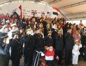 """صور.. وحدة """"العنف ضد المرأة"""" بالجيزة تحتفل بالذكرى 66 لعيد الشرطة"""