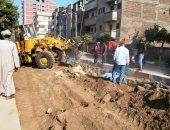 صور..محافظ سوهاج: بدء التشغيل التجريبى للصرف الصحى بنسبة 80% بمدينة المراغة