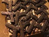 الداخلية تضبط 62 قطعة سلاح نارى فى حملات أمنية