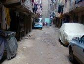 سكان شارع حسين عثمان بالزاوية الحمراء يطالبون برصف الطريق لسوء حالته