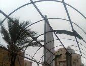 قارئ يطالب بإصلاح مظلة بميدان الستين بدمياط الجديدة لحماية المواطنين من الأمطار