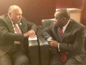 وزير الخارجية يلتقى نظيره الزيمبابوى على هامش قمة الاتحاد الأفريقى