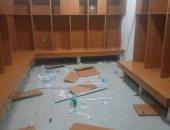 فريق جزائرى يحطم غرفة ملابسه بعد الخسارة فى الدورى