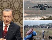 """جرائم تركيا فى سوريا عرض مستمر ..""""جيش أردوغان"""" يهجر 300 ألف شخص من عفرين.. أنقرة تفتح حدودها لدعم المسلحين والمتشددين.. ووزير الخارجية الروسى يمهل """"النصرة"""" حتى منتصف أكتوبر لمغادرة إدلب"""