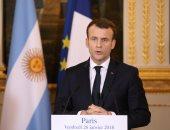 استطلاع: هبوط شعبية الرئيس الفرنسى بواقع 6 نقاط خلال فبراير