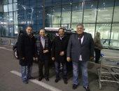 صور.. وصول رئيس الناشرين الأردنيين ومدير معرض عمان للمشاركة بمعرض الكتاب