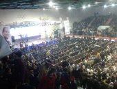 غدا.. مؤتمر جماهيرى حاشد لدعم ترشح الرئيس لفترة رئاسية ثانية فى أبشواى