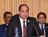 موكب الرئيس السيسي والبشير يغادر مطار القاهرة فى طريقه للاتحادية