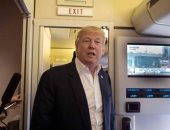 """فريق مفرقعات يحقق فى تهديد محتمل قرب طائرة """"ترامب"""""""