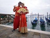 إثارة وسحر فى انطلاق فعاليات كرنفال البندقية بإيطاليا