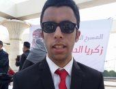 الإعاقة فى العقل.. شهاب فقد بصره ولم يفقد موهبته فى الغناء والتأليف بعدة لغات
