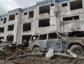 صور.. انفجار ضخم يدمر مركزا للشرطة فى الإكوادور
