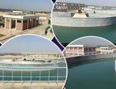 بدء تشغيل توسعات محطة مياه جزيرة الدهب بطاقة 80ألف م3 يومياً للمرحلة الأولى