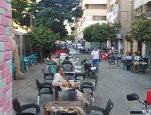 انتشار المقاهى غير المرخصة بشارع أبو بكر الصديق فى الهرم يزعج الأهالى