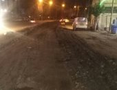 شركة الغاز تستجيب لأهالى شارع بالإسكندرية: سنردم الحفر ويعود الشىء لأصله