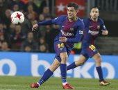 الثنائية حلم كوتينيو مع برشلونة فى الموسم الأول