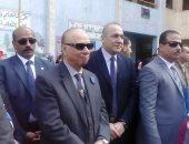 رئيس حى شبرا يتفقد خدمات مبنى الطوارئ بمستشفى شبرا العام خلال إجازة العيد