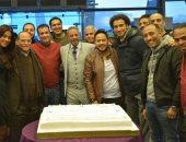 """صادق الصباح وأبطال """"سك على أخواتك"""" يحتفلون بانطلاق التصوير"""