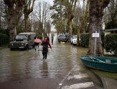 فيضانات تغرق شوارع باريس بعد ارتفاع منسوب نهر السين لمستوى قياسى