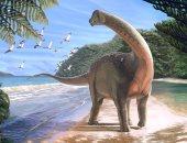اكتشاف حفرية ديناصور بطول 10 أمتار ووزن 5.5 طن فى الصحراء الغربية