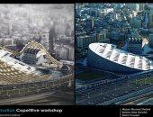 تخيل شكل مكتبة الإسكندرية بالهندسة الرقمية.. شاهد أحدث تصميمات شبابية لها