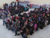 الداخلية توزع مساعدات مادية على المواطنين بالأقصر