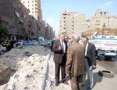 محافظة الجيزة: بدء تطوير 96 شارعا بالوراق بتمويل من الوكالة الألمانية