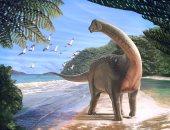 عرض حفرية أكبر ديناصور من آكلي لحوم البشر في برج إيفل