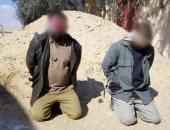 الجيش الثالث يدمر 14 وكرا للعناصر التكفيرية بوسط سيناء (صور)