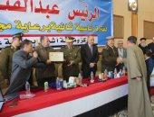 صور.. تكريم ضباط وعمد مركز أشمون بالمنوفية بمناسبة الاحتفال بعيد الشرطة