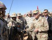 """رئيس أركان حرب القوات المسلحة يشهد المرحلة النهائية لـ""""كليوباترا 2018"""" (فيديو وصور)"""