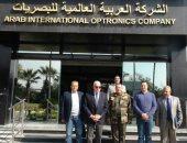محافظ جنوب سيناء يتابع تنفيذ مشروعات جارى تنفيذها بالشركة العالمية للبصريات